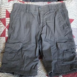 Gray cargo shorts, Urban Pipeline, size 29